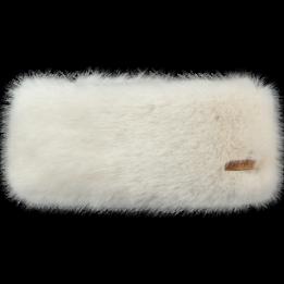 Bandeau Fausse Fourrure Blanc- Barts