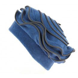 Toque Polaire Femme Najac Bleue- Traclet