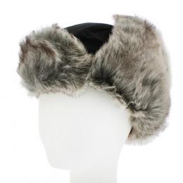 Children's Chapka Buck Waterproof Fake Fur Black - Herman