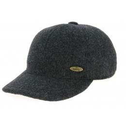 Casquette Baseball Laine Anthracite- Traclet