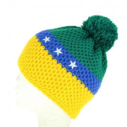 Bonnet à Pompon Brésil - Le Drapo