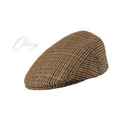 Casquette Plate Anglaise Hereford Tweed -Olney