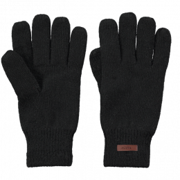 Haakon Black Wool Gloves- Barts