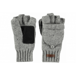 Gloves/Mittens Wool haakon Grey - Barts