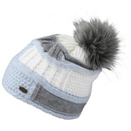 Bonnet à Pompon Poznan Mohair & Laine- Traclet
