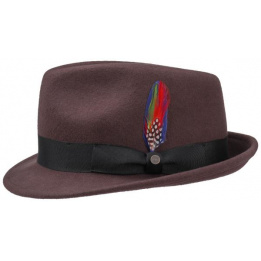 Chapeau Trilby Richmond Bordeaux- Stetson