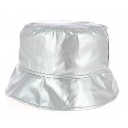 Chapeau Bob de Pluie Argent- Traclet
