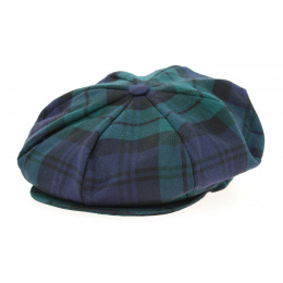 Casquette Irlandaise A Carreaux Verte- Hanna Hats