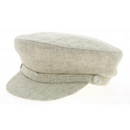 Steward Linen & Cotton Beige- Traclet Cap