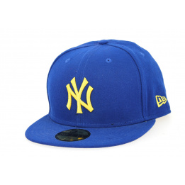 Casquette Seascont NY Yankees Bleu & Jaune- New Era