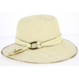 Hat Fedora Panama Benita Natural Panama Hat - Mayser