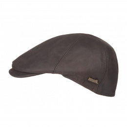 Duck Beak Cap Maiko Brown Leather - Hatland