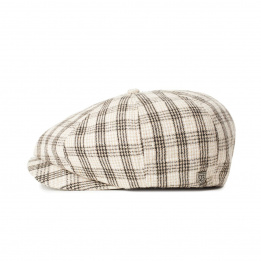Casquette Brood Lightweight à Carreaux Laine- Brixton