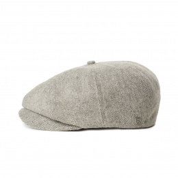 Casquette Brood Lightweight Grise Laine- Brixton