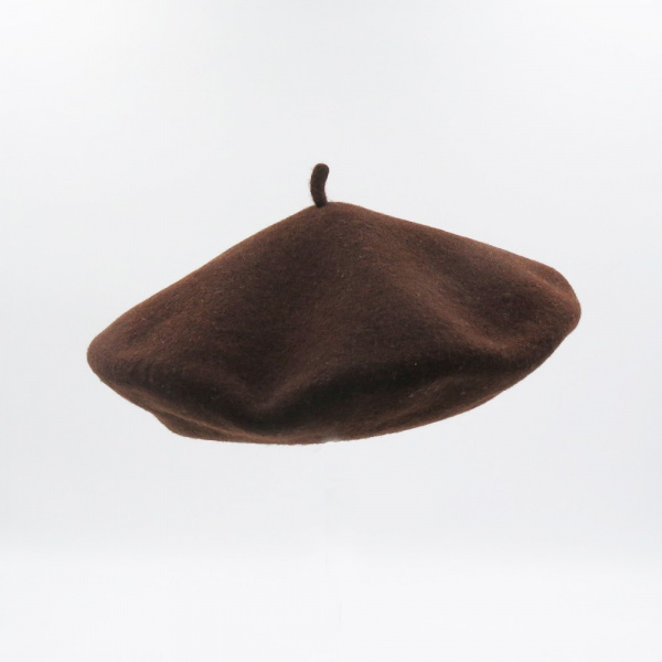 The Classic Brown French Beret- Le Béret Français