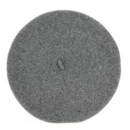 The Classic Grey French Beret- Le Béret Français
