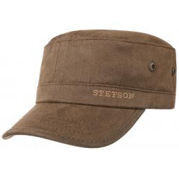 Casquette Army Coton Marron- Stetson