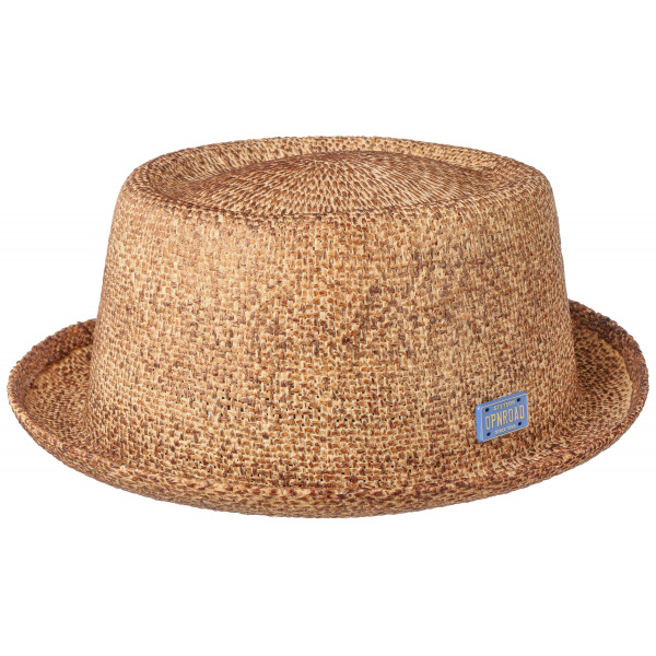 Chapeau Porkpie Open Road Toyo Naturel- Stetson