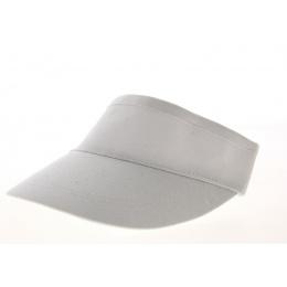 White Cotton Visor - Traclet