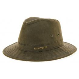 Chapeau Traveller Coton Marron- Stetson