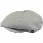 Casquette Plate Jamaica Coton Gris Clair- Barts