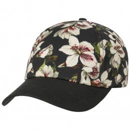 Baseball Cap Floweries Black Cotton- Barts