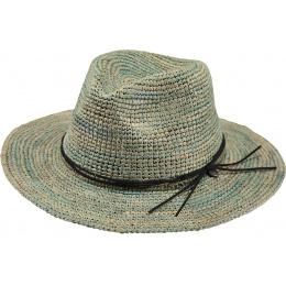 Hat Traveller Celery Straw Raffia Hat - Barts