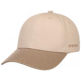 Casquette Baseball Coton Beige- Stetson