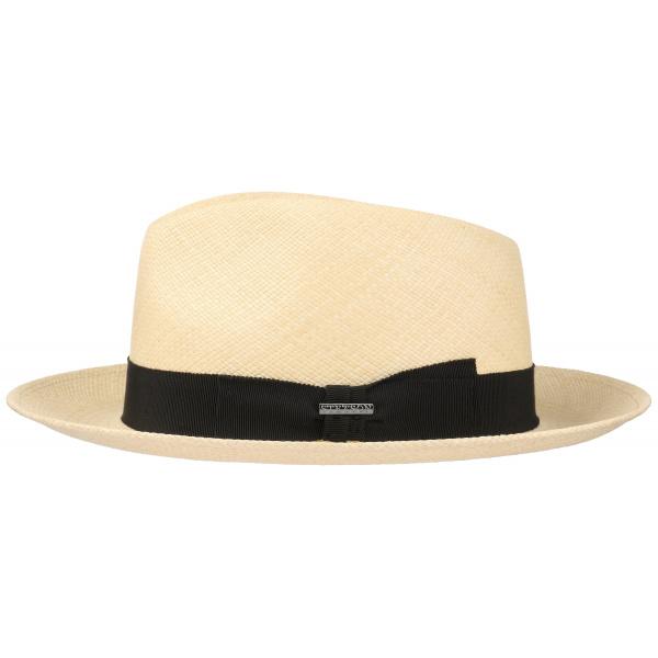 Chapeau Fedora Panama Paille Naturelle- Stetson