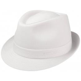 Chapeau Tissu Teton Blanc Coton- Stetson