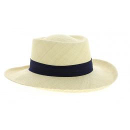 Gambler Panama Hat Natural Straw Straw - Stetson