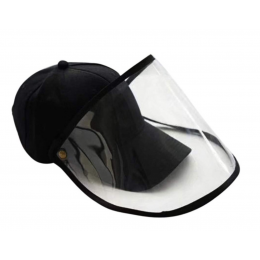 Cap with protective visor