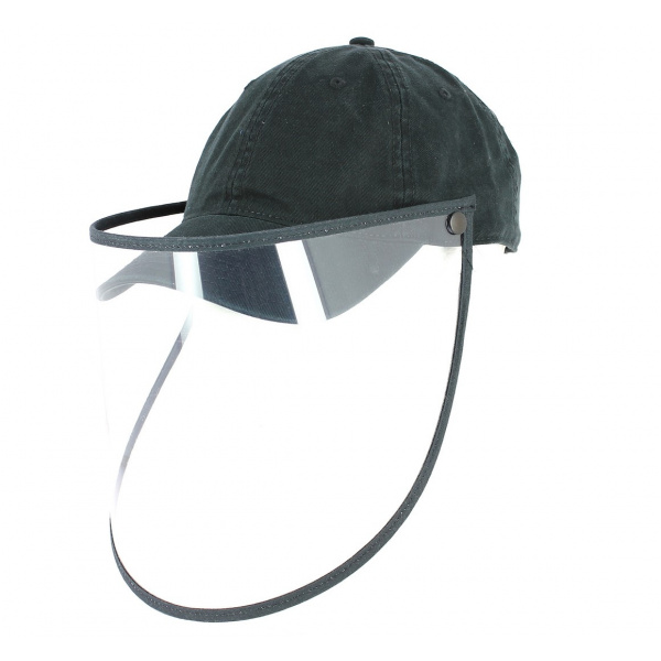 Casquette avec visiere de protection