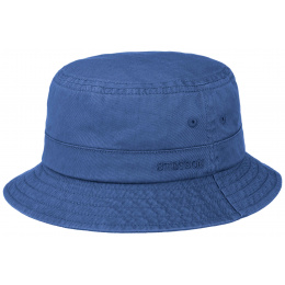 Bob Coton Twill Coton Bleu - Stetson