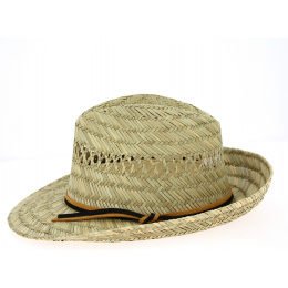 Fedora Cefalu Natural Straw Hat - Traclet