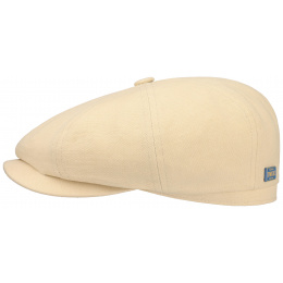 Hatteras Cotton/Linen Cream Cap - Stetson