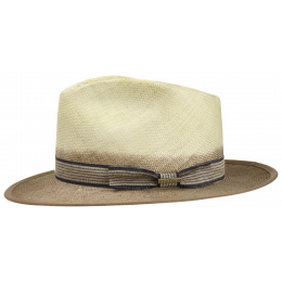 Fedora Abaca Hat Natural Straw - Stetson