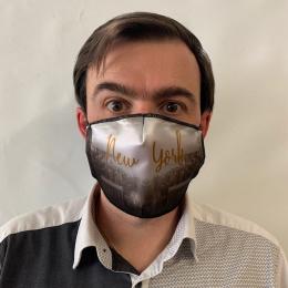 Masque New York Fantaisie Élastique Noir- Traclet