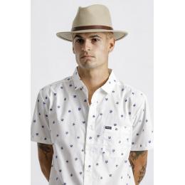 Fedora Messer Hat Wool Felt Safari- Brixton