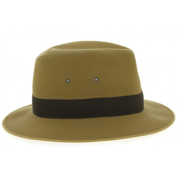 Safari Hat Beige Formed Cotton Fabric - Broswell