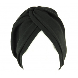 Chemotherapy Cotton Turban Black- Traclet