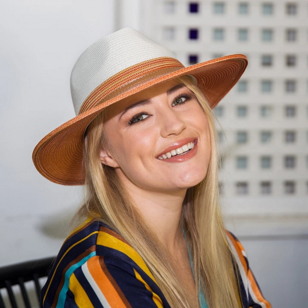 Chapeau Bella Ivoire Tan- Emthunzini Hats