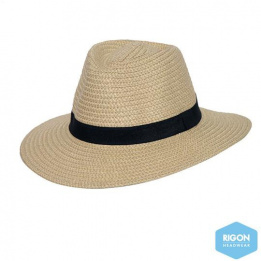 Apache Traveller Hat Natural Fibers - Rigon Headwear