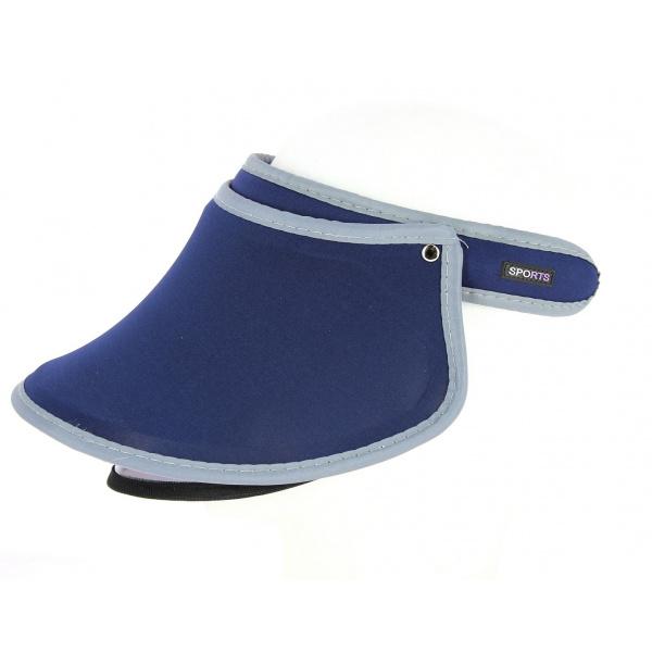 Serre-Tête Visière de Protection Sport Bleu Marine- Traclet