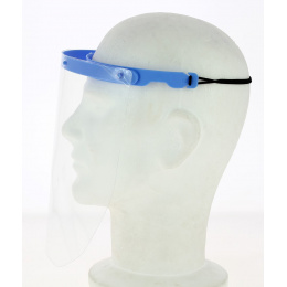 Blue Protective Plastic Visor - Traclet