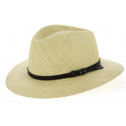 Traveller Hat Agrigento Panama Natural Panama Hat - Traclet