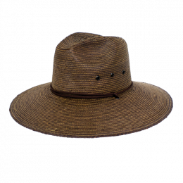 Traveller Hat Desire Straw Brown- Traclet