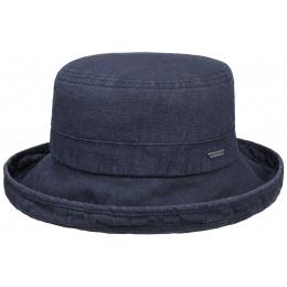 Hat Woman Ramie Navy Blue - Stetson
