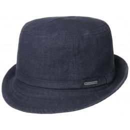 Navy Blue Ramie Trilby Hat - Stetson