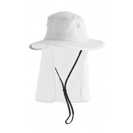 UPF 50+ Convertible Boating Hat White - Coolibar